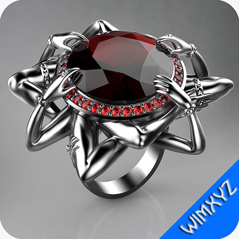 3d model ring lust