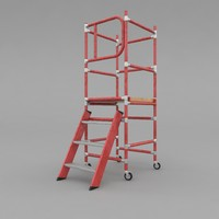3d scaffold tower