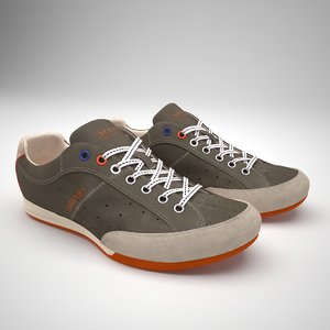 carnaby shoes 3d model