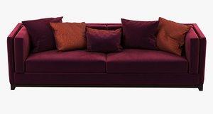 3d max sofa albert