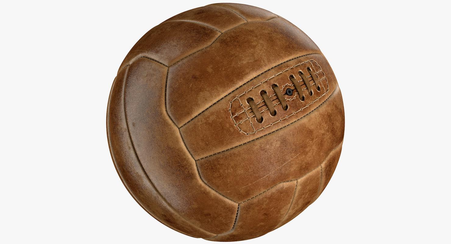 Vintage Soccer Ball 39