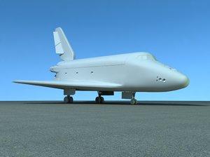 shuttle - buran 3d x