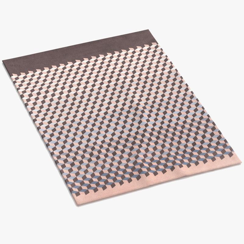 cc-tapis mini infini 3d model
