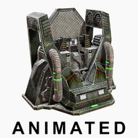 low-poly craft machines max