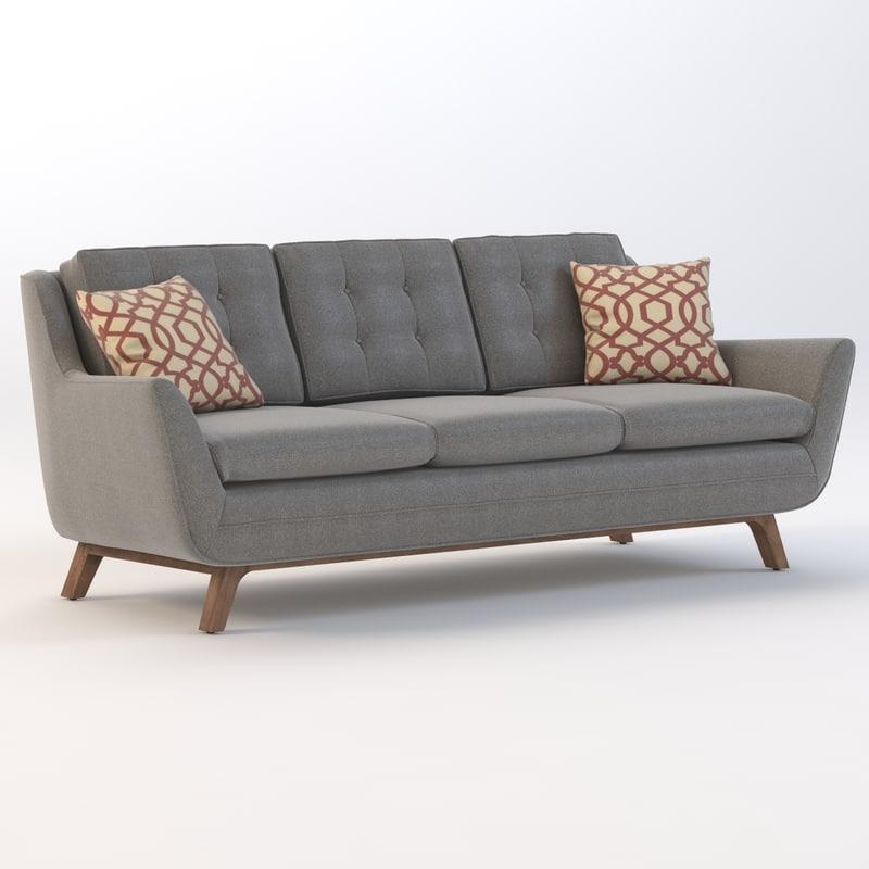 sofa joybird eastwood 3d 3ds