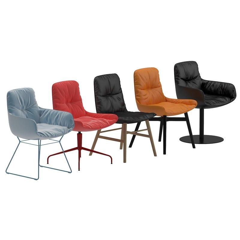 freifrau chair 3d model