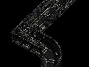 sci-fi techlabs orion construction kit 3d model