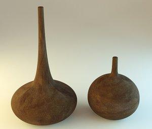 blender clay 3d model