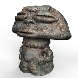 3d ancient alien model