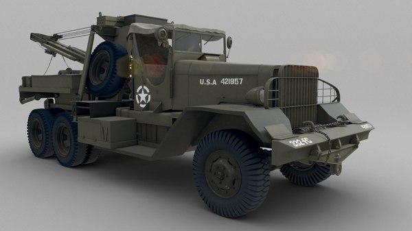 army ward diamond t 3d model