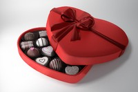 Valentine Candy Chocolate BOX