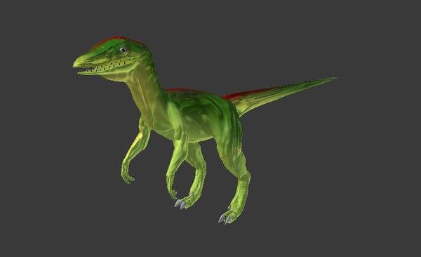 dinosaur 3d obj