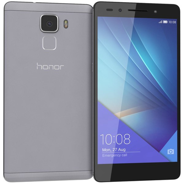 huawei honor 7 gray 3d 3ds