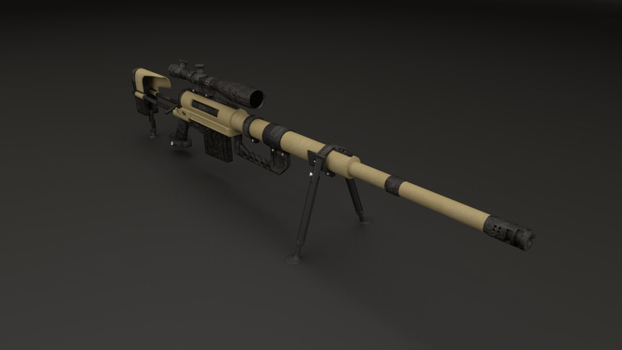 sniper rifle m200 3ds free
