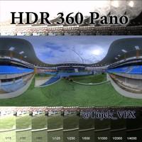 HDR 360 Pano Olympic Stadium11 Joao Havelange
