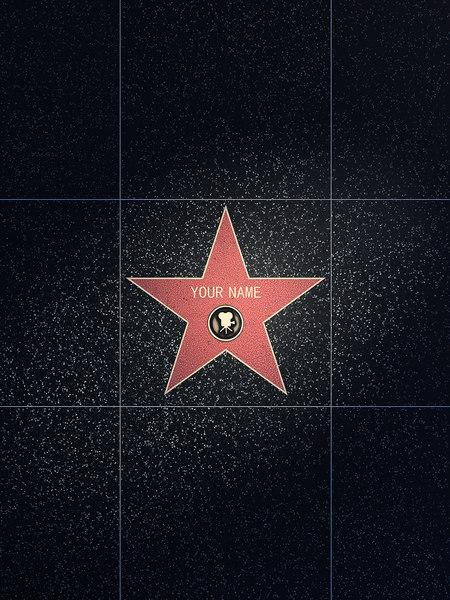 walk fame star 3d 3ds