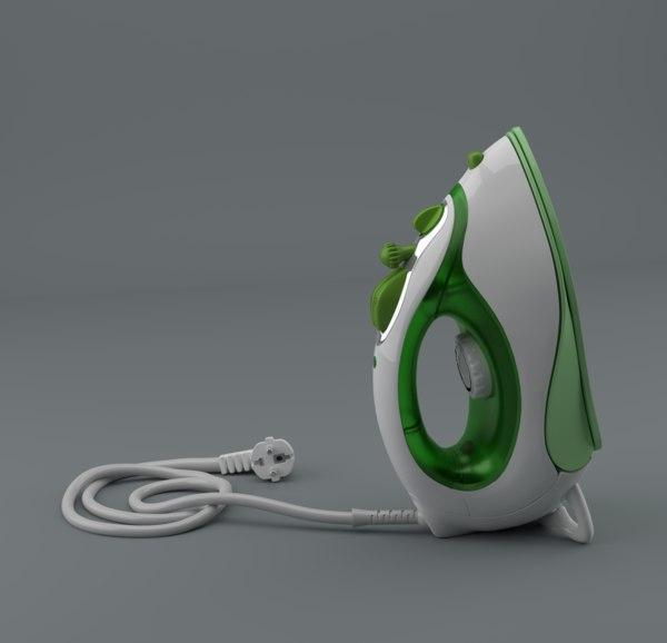 clothes iron 3d model