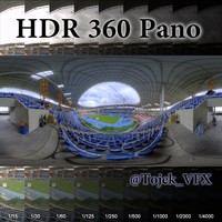 HDR 360 Pano Olympic Stadium13 Joao Havelange