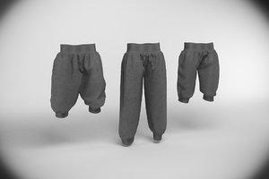 3d pants s sport