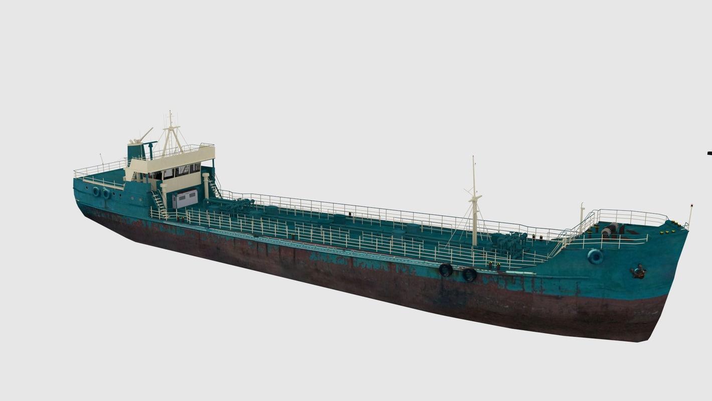 tanker 3d 3ds