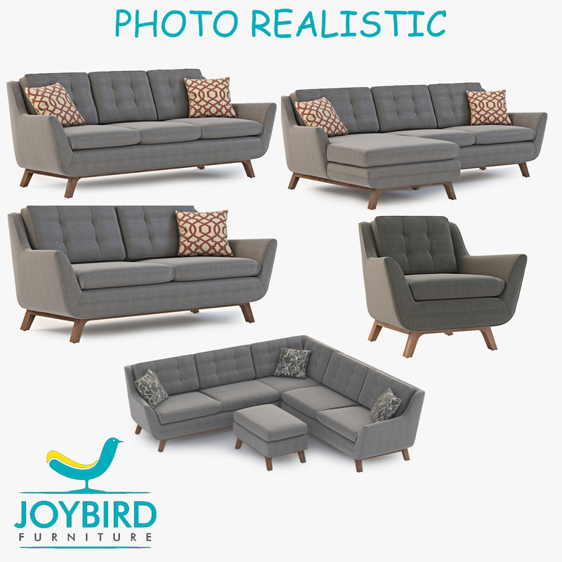 sofa chair joybird 3d max