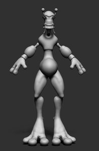 3d model space worm