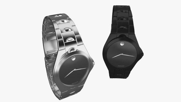 3d fbx movado watch