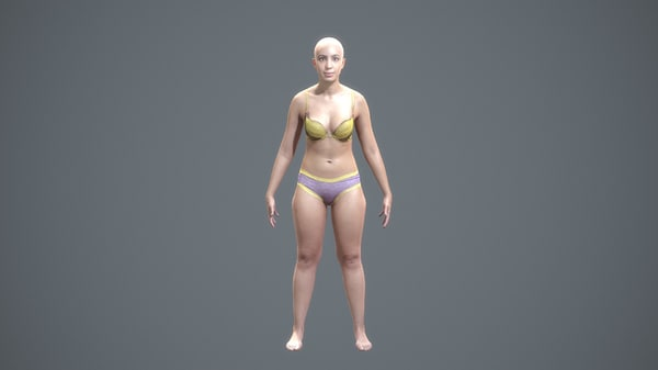 character human - scans fbx