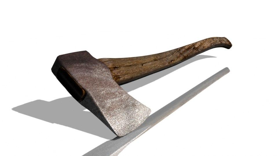free axe 3d model