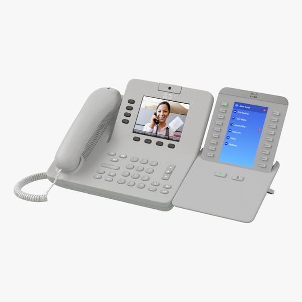 cisco unified ip phone 3d model