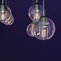 light bulb 3d max