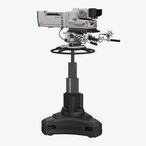 3d model professional hd studio camera