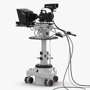 3d tv studio camera hitachi model