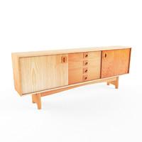 wall desk 3d max