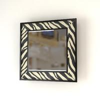 3d model eichholtz mirror zebra 100x100