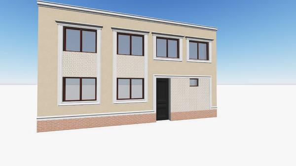 facade 3d 3ds