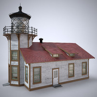 light station 3d model