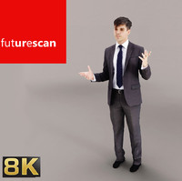 3d model scan people cutout