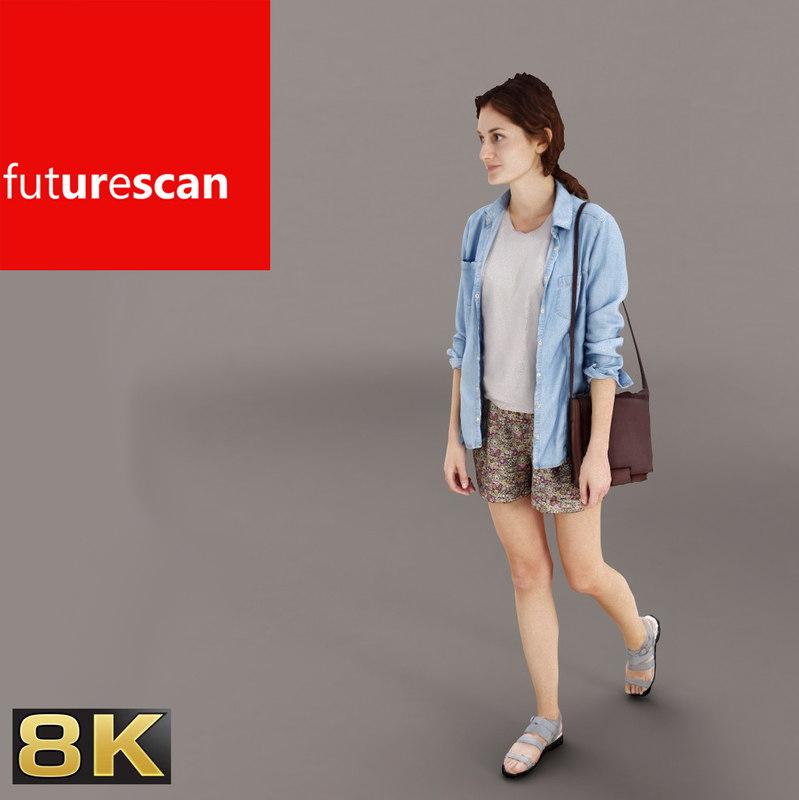 people archviz 3d model