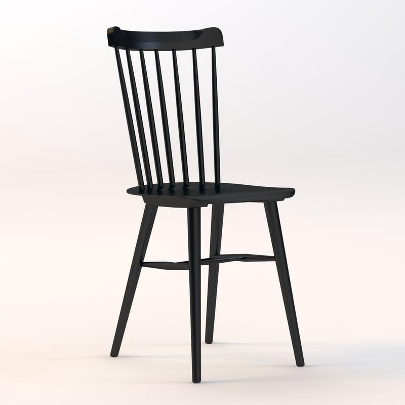 3d model salt chair