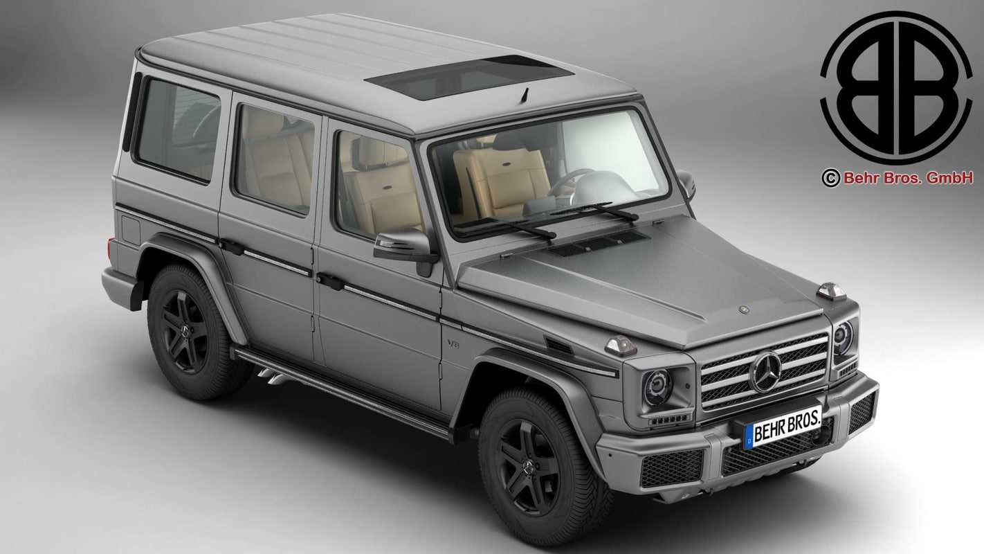 mercedes g class g500 3d model. Black Bedroom Furniture Sets. Home Design Ideas