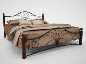 wrought iron bed max
