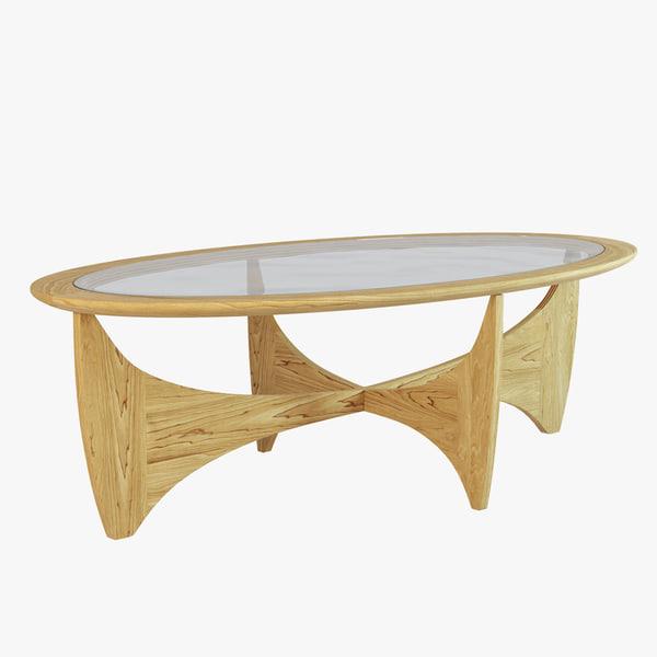 3d model coffee table astro
