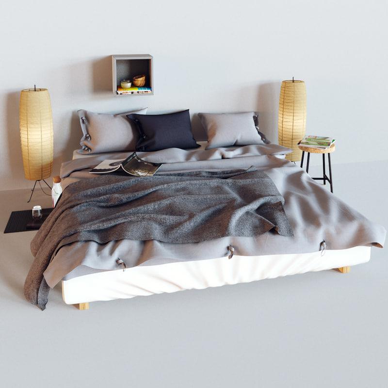 linblomma lamp 3d max