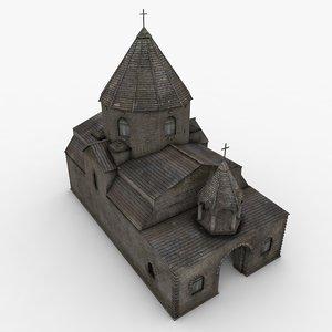 shoghakat church 3ds