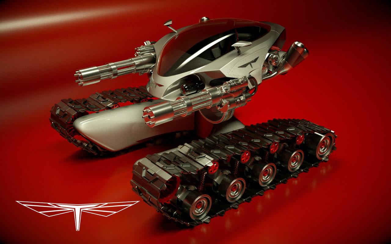 3d t designed model