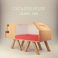 Dogs and cats house