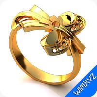 3d model ring jewelry gem