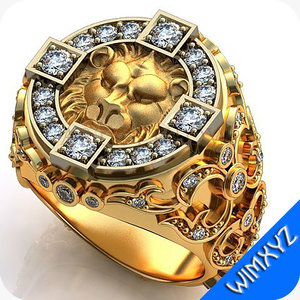 ring jewelry gem 3dm