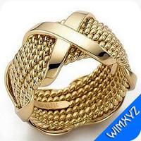3d ring jewelry gem